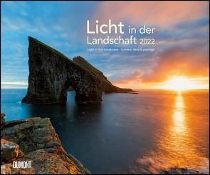 Licht in der Landschaft 2022 – Wandkalender 58,4 x 48,5 cm – Spiralbindung