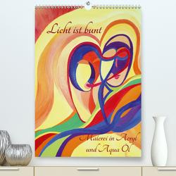 Licht ist bunt – Malerei in Acryl und Aqua Öl (Premium, hochwertiger DIN A2 Wandkalender 2021, Kunstdruck in Hochglanz) von Hartmann,  Eilyn