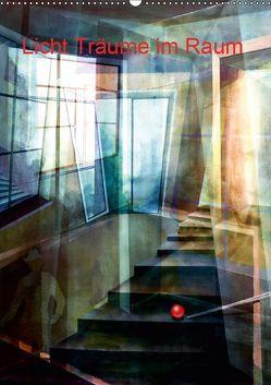 Licht-Träume im Raum (Wandkalender 2019 DIN A2 hoch) von Scheffler,  Gertrud