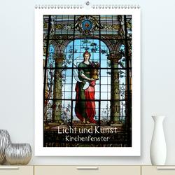 Licht und Kunst (Premium, hochwertiger DIN A2 Wandkalender 2021, Kunstdruck in Hochglanz) von Niemsch,  Gerhard