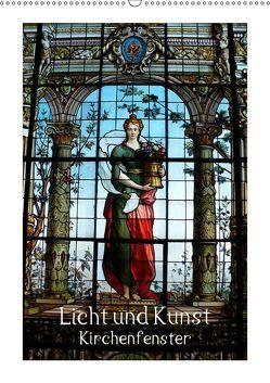 Licht und Kunst (Wandkalender 2019 DIN A2 hoch) von Niemsch,  Gerhard