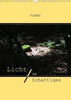 Licht und Schattiges (Wandkalender 2019 DIN A3 hoch) von Keller,  Angelika