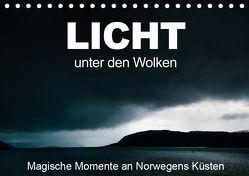 Licht unter den Wolken – Magische Momente an Norwegens Küsten (Tischkalender 2019 DIN A5 quer) von Grupp,  Heiko