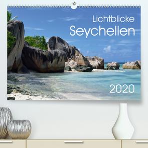 Lichtblicke – Seychellen (Premium, hochwertiger DIN A2 Wandkalender 2020, Kunstdruck in Hochglanz) von Bade,  Uwe