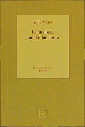 Lichtenberg und das Judentum von Schäfer,  Frank