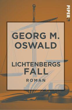 Lichtenbergs Fall von Oswald,  Georg M.