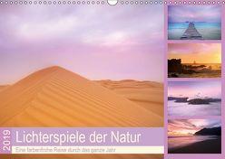 Lichterspiele der Natur (Wandkalender 2019 DIN A3 quer) von Travelpixx.com