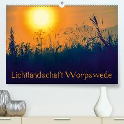 Lichtlandschaft Worpswede (Premium, hochwertiger DIN A2 Wandkalender 2020, Kunstdruck in Hochglanz) von Adam,  Ulrike