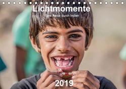 Lichtmomente – Eine Reise durch Indien (Tischkalender 2019 DIN A5 quer) von Kraft,  Saskia