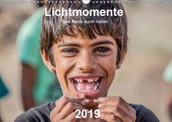 Lichtmomente – Eine Reise durch Indien (Wandkalender 2019 DIN A3 quer) von Kraft,  Saskia