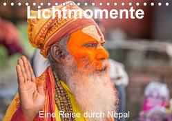 Lichtmomente – Eine Reise durch Nepal (Tischkalender 2019 DIN A5 quer) von Kraft,  Saskia