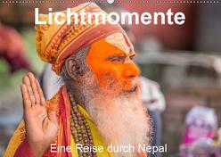 Lichtmomente – Eine Reise durch Nepal (Wandkalender 2019 DIN A2 quer) von Kraft,  Saskia