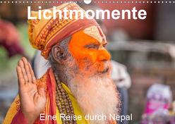 Lichtmomente – Eine Reise durch Nepal (Wandkalender 2019 DIN A3 quer) von Kraft,  Saskia
