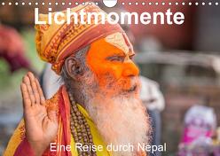 Lichtmomente – Eine Reise durch Nepal (Wandkalender 2019 DIN A4 quer) von Kraft,  Saskia