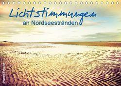 Lichtstimmungen an Nordseestränden (Tischkalender 2018 DIN A5 quer) von Kunze,  Klaus