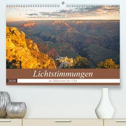 Lichtstimmungen im Südwesten der USA (Premium, hochwertiger DIN A2 Wandkalender 2020, Kunstdruck in Hochglanz) von Potratz,  Andrea