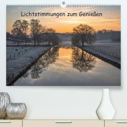 Lichtstimmungen zum Genießen / CH-Version (Premium, hochwertiger DIN A2 Wandkalender 2021, Kunstdruck in Hochglanz) von Potratz,  Andrea