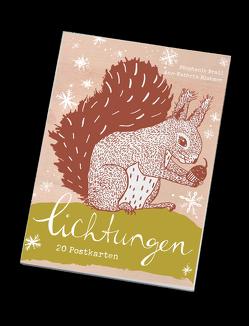 Lichtungen – Postkartenbuch von Blohmer,  Ann-Kathrin, Brall,  Stephanie