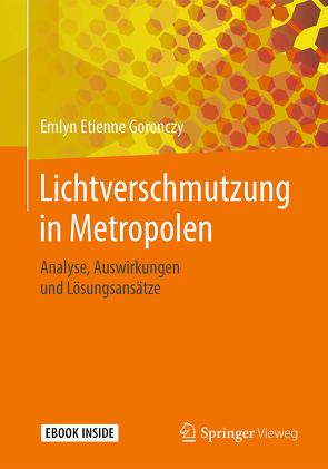 Lichtverschmutzung in Metropolen von Goronczy,  Emlyn Etienne