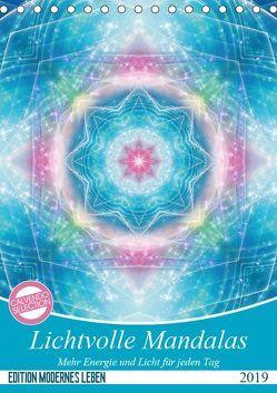 Lichtvolle Mandalas (Tischkalender 2019 DIN A5 hoch) von Shayana Hoffmann,  Gaby
