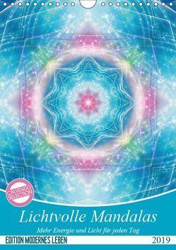 Lichtvolle Mandalas (Wandkalender 2019 DIN A4 hoch) von Shayana Hoffmann,  Gaby
