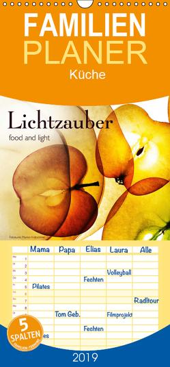 Lichtzauber – Familienplaner hoch (Wandkalender 2019 <strong>21 cm x 45 cm</strong> hoch) von Kraetschmer,  Marion