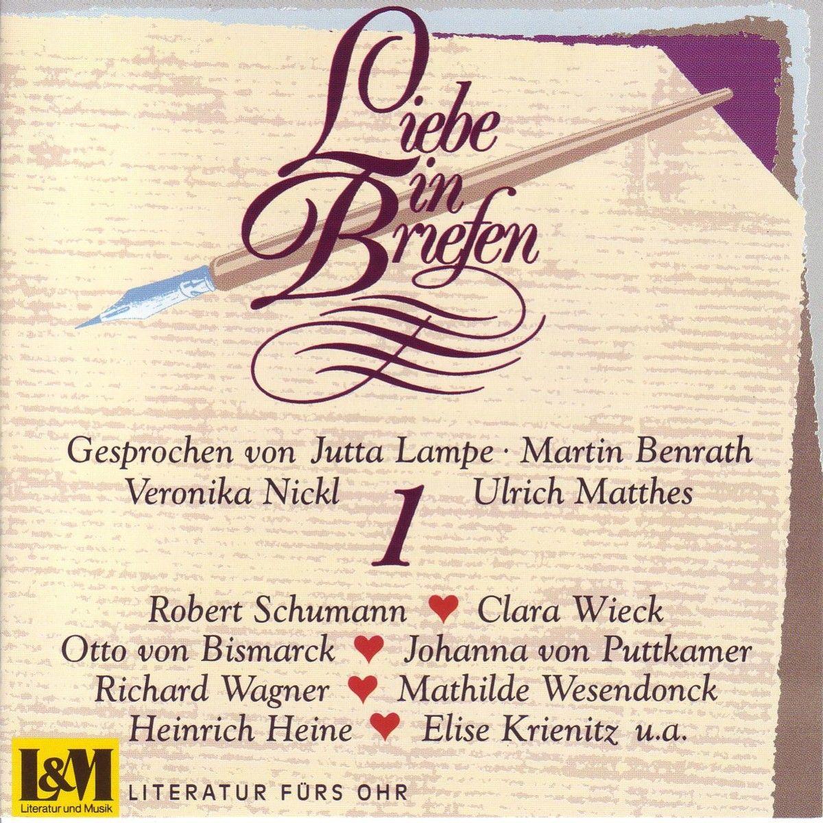 Briefe Von Clara Schumann : Quot liebe in briefen aus dem buch archiv des herzens