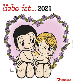 liebe ist… 2021 – Wand-Kalender – 30×34 – Illustrationen – Paar von Casali,  Kim