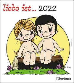 liebe ist… 2022 – Wand-Kalender – 30×34 – Illustrationen – Paar von Casali,  Kim