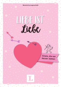 Liebe ist Liebe – Mini-Buch von Langenscheidt,  Redaktion