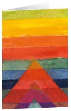 Liebe und Hoffnung – Kunst-Faltkarten mit Text (5 Stück) von Felger,  Andreas