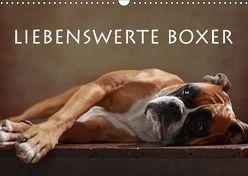 Liebenswerte Boxer (Wandkalender 2018 DIN A3 quer) von Behr,  Jana