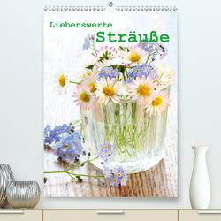 Liebenswerte Sträuße (Premium, hochwertiger DIN A2 Wandkalender 2020, Kunstdruck in Hochglanz) von Kruse,  Gisela