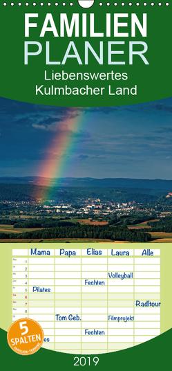 Liebenswertes Kulmbacher Land – Familienplaner hoch (Wandkalender 2019 , 21 cm x 45 cm, hoch) von Orth,  Egid
