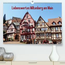 Liebenswertes Miltenberg am Main (Premium, hochwertiger DIN A2 Wandkalender 2020, Kunstdruck in Hochglanz) von Andersen,  Ilona