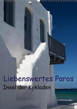 Liebenswertes Paros, Insel der Kykladen (Wandkalender 2021 DIN A2 hoch) von Gernhoefer,  U.