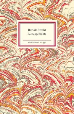 Liebesgedichte von Brecht,  Bertolt, Hauptmann,  Elisabeth