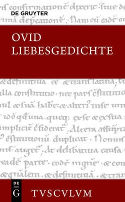 Liebesgedichte / Amores von Holzberg,  Niklas, Ovid