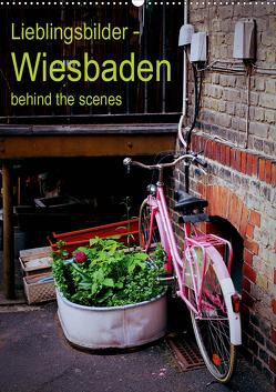 Lieblingsbilder – Wiesbaden, behind the scenes (Wandkalender 2021 DIN A2 hoch) von Vasiliadis,  Carolin