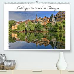 Lieblingsplätze in und um Tübingen (Premium, hochwertiger DIN A2 Wandkalender 2020, Kunstdruck in Hochglanz) von Maas,  Christoph