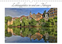 Lieblingsplätze in und um Tübingen (Wandkalender 2020 DIN A4 quer) von Maas,  Christoph