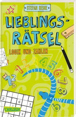 Lieblingsrätsel – Logik und Zahlen, ab 8 Jahren (Rechenrätsel, Sudoku, Logicals und vieles mehr) von Heine,  Stefan