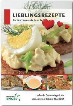 Lieblingsrezepte Band 4 Rezepte geeignet für den Thermomix von Möhrlein-Yilmaz,  Marion