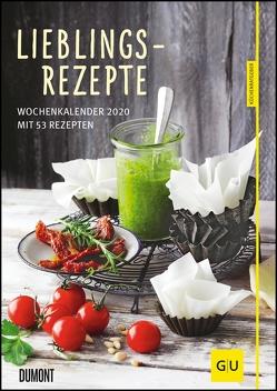Lieblingsrezepte – Wochenkalender 2020 – Küchen-Kalender mit 53 Blatt – Format 21,0 x 29,7 cm – Spiralbindung von DUMONT Kalenderverlag