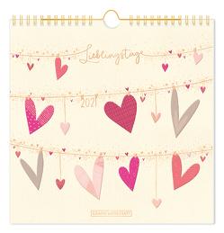 """Lieblingsstücke-Kalender 2021 """"Lieblingstage"""""""