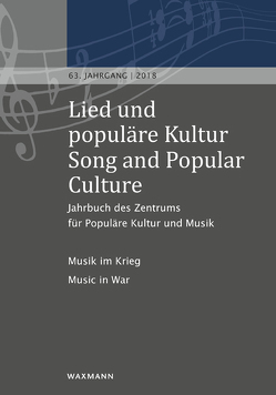 Lied und populäre Kultur / Song and Popular Culture 63 (2018) von Holtsträter,  Knut