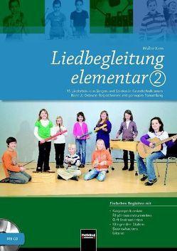 Liedbegleitung elementar 2. Heft und DVD von Kern,  Walter
