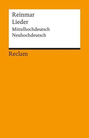Lieder von Reinmar, Schweikle,  Günther
