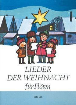 Lieder der Weihnacht für Flöten von Nicolai,  Paul