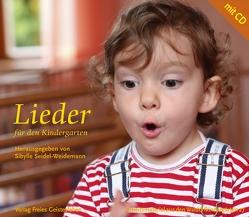 Lieder für den Kindergarten von Seidel-Weidemann,  Sibylle